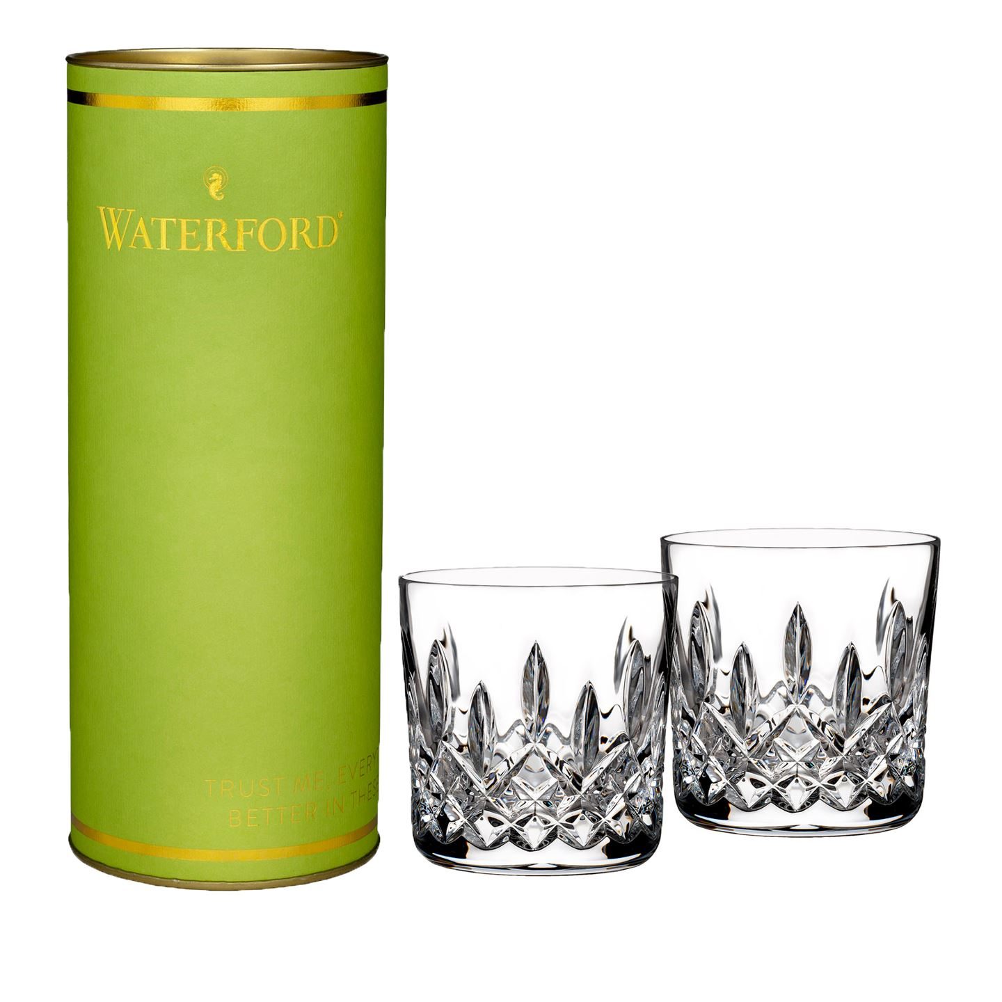 Waterford Giftology Lismore Tumbler | Set of 2 | Lead Crystal