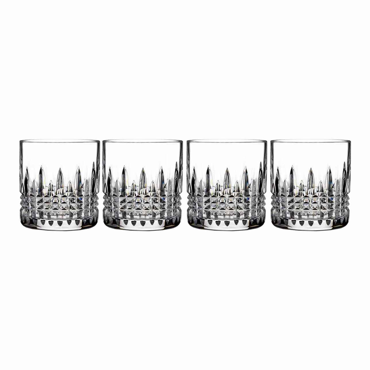 Lismore Connoisseur Diamond Straight Sided Tumbler, Set of 4