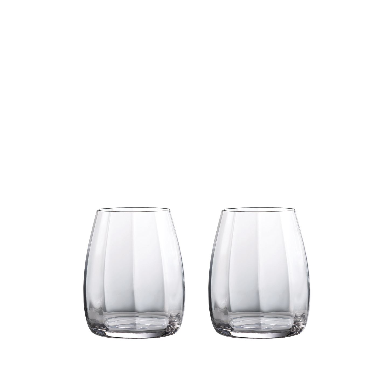 Waterford Elegance Optic Whiskey Glass | Set of 2 | Crystalline