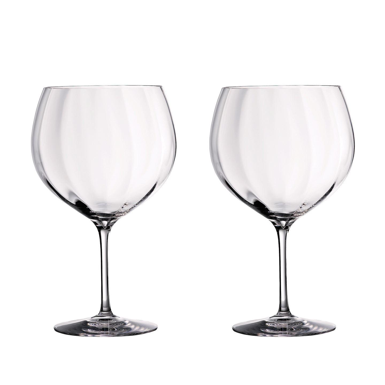 Waterford Elegance Optic Balloon Gin Glass | Set of 2