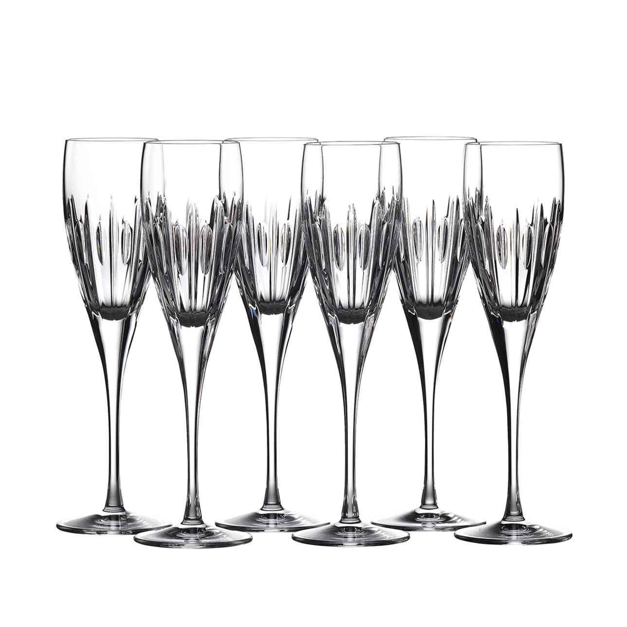 Mara Champagne Flute, Set of 6