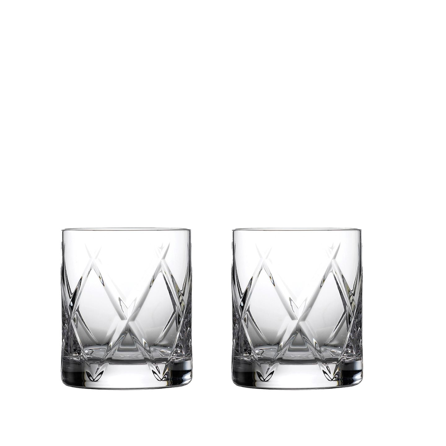 Waterford Olann Double Old Fashioned Tumbler | Set of 2 | Crystal