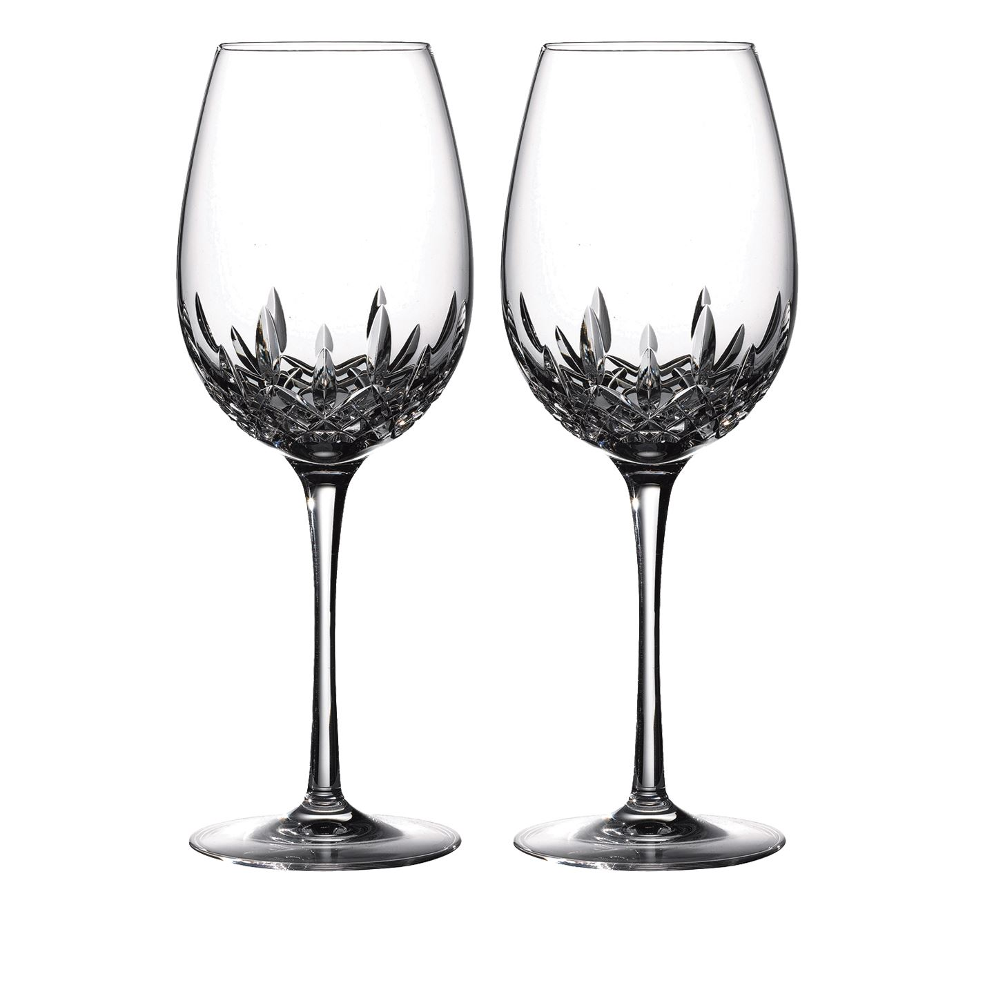Waterford Lismore Essence Goblet | Set of 2 Glass | Lead Crystal