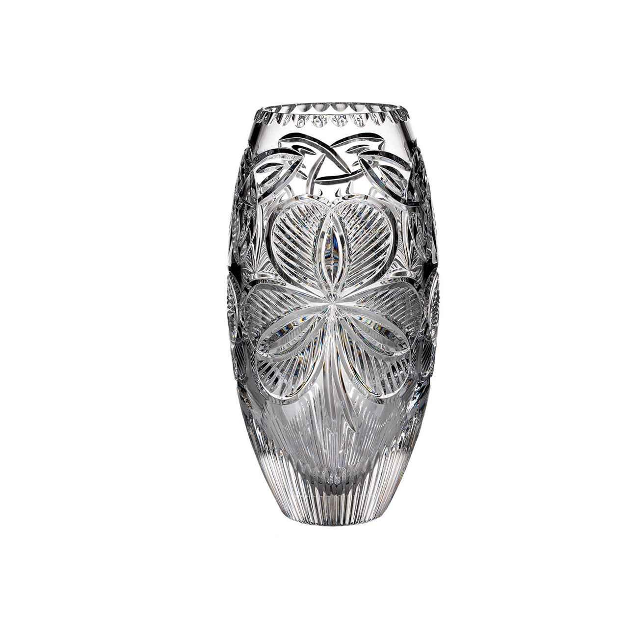 Irish Shamrock 25cm Vase