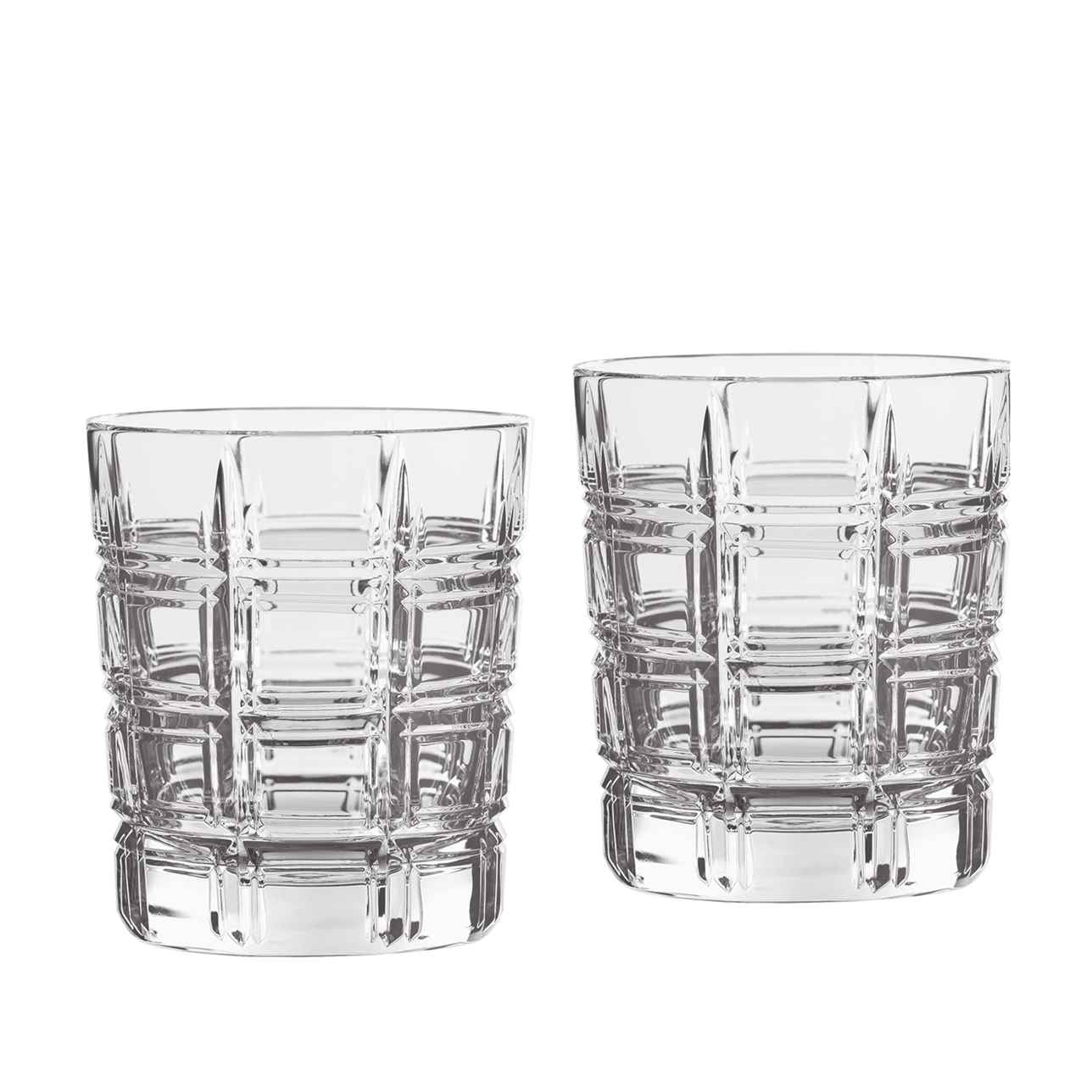 Marquis Crosby Whiskey Glass, Set of 4
