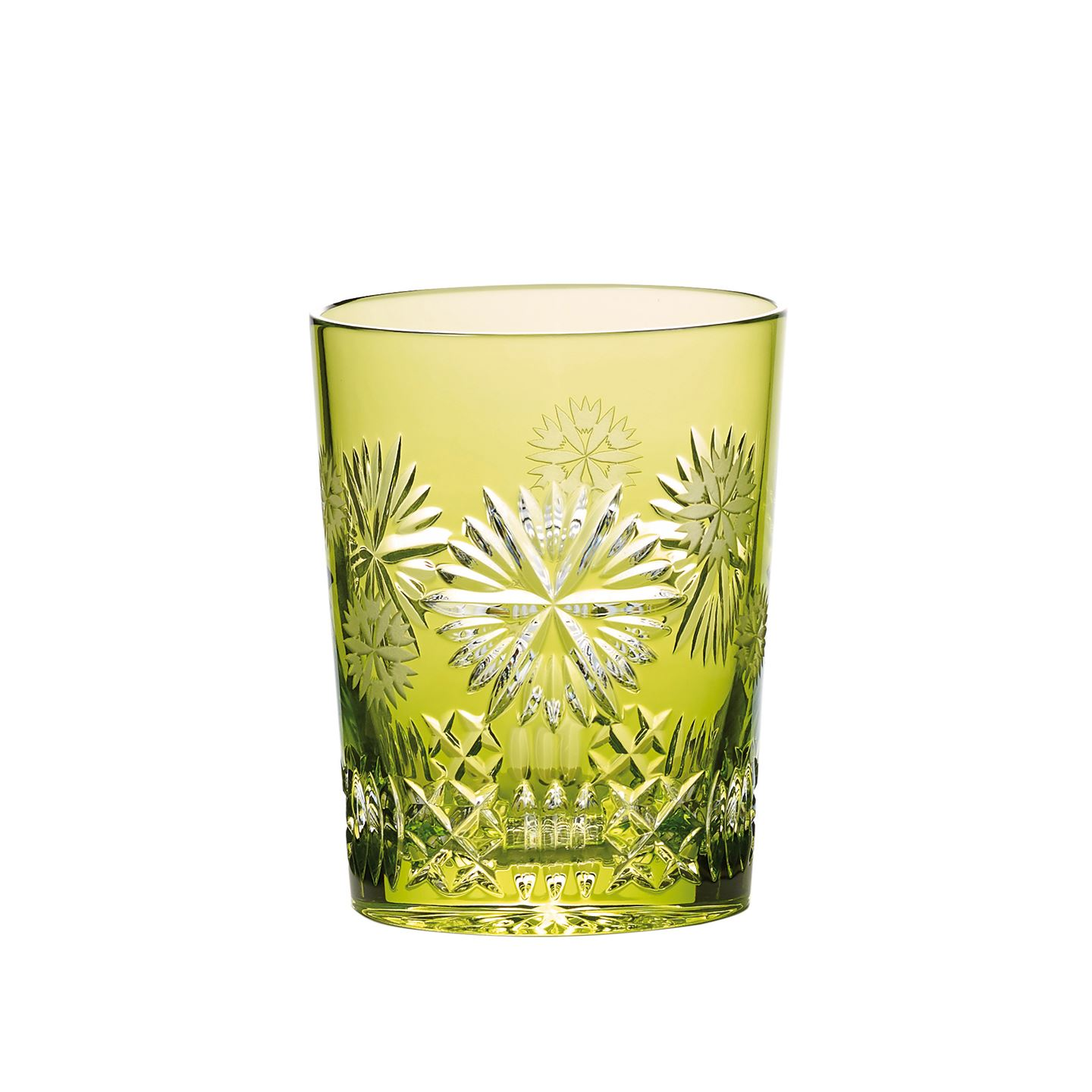 Waterford 2019 Snowflake Wishes Prosperity Prestige Edition Double Old Fashioned Lime Tumbler