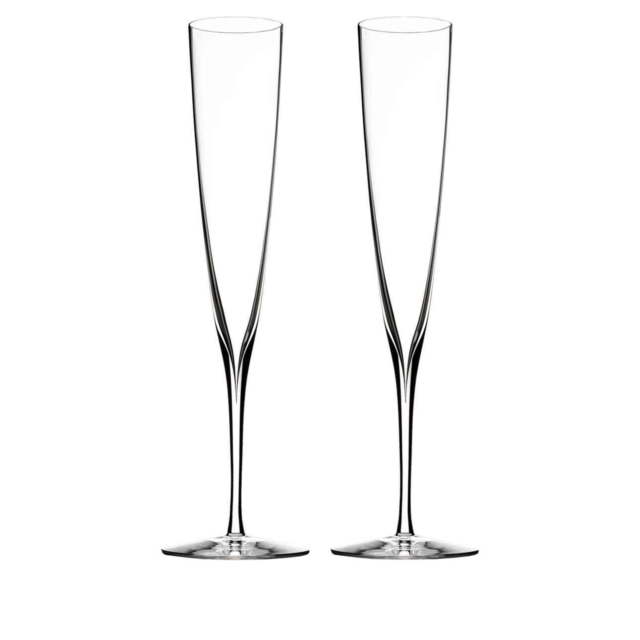 Elegance Champagne Trumpet Champagne Flute, Set of 2
