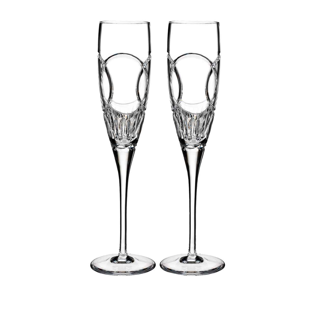 Waterford Love Wedding Vows Champagne Flute, Set of 2