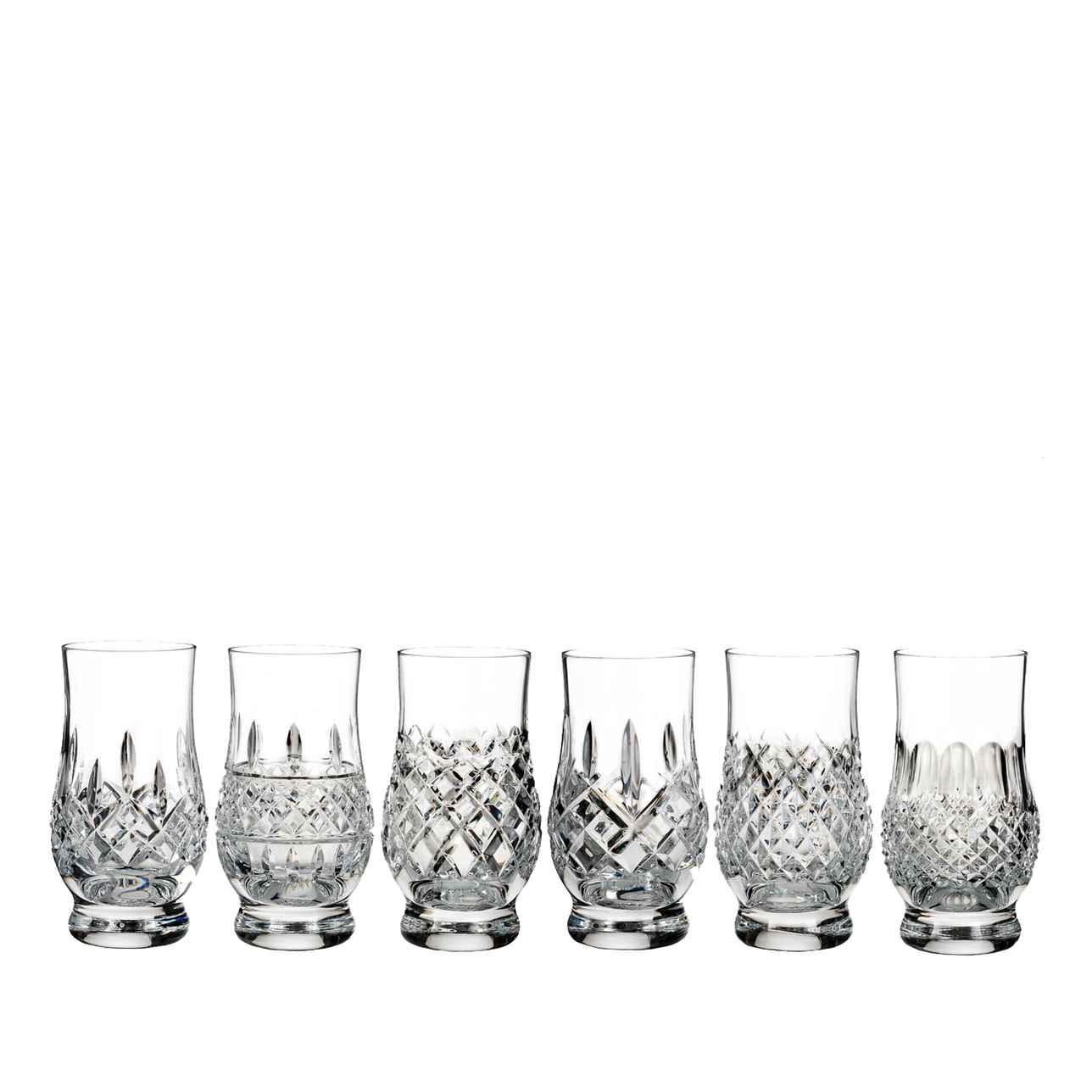 Lismore Connoisseur Heritage Footed Tasting Tumbler, Set of 6