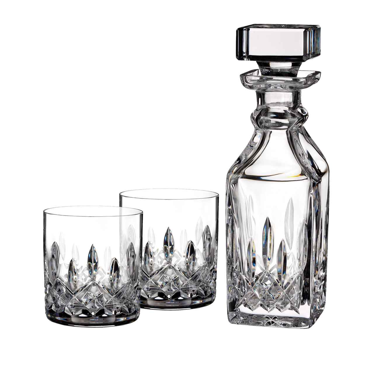 Lismore Connoisseur Square Decanter & Tumbler, Set of 2