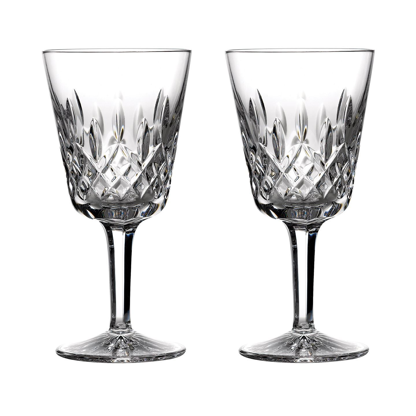 Waterford Classic Lismore Goblet | Set of 2 Glass | Crystal