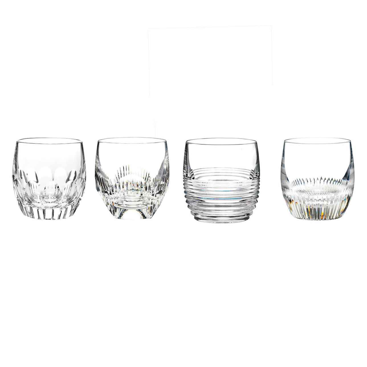 Mixology Mixed Tumbler, Set of 4