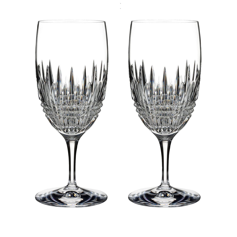 Glassware Waterford Lismore Diamond Essence Iced Beverage 18 OZ Set/2