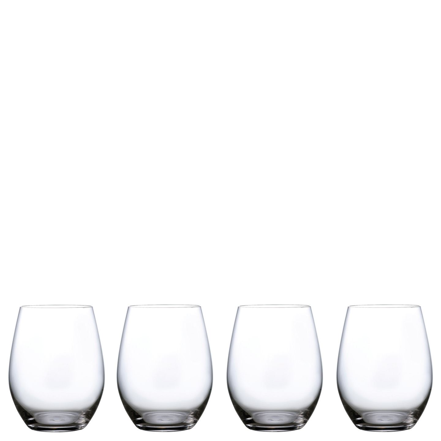 Marquis by Waterford Moments Stemless Wine Glass | Set of 4 | Crystal | 550 ml