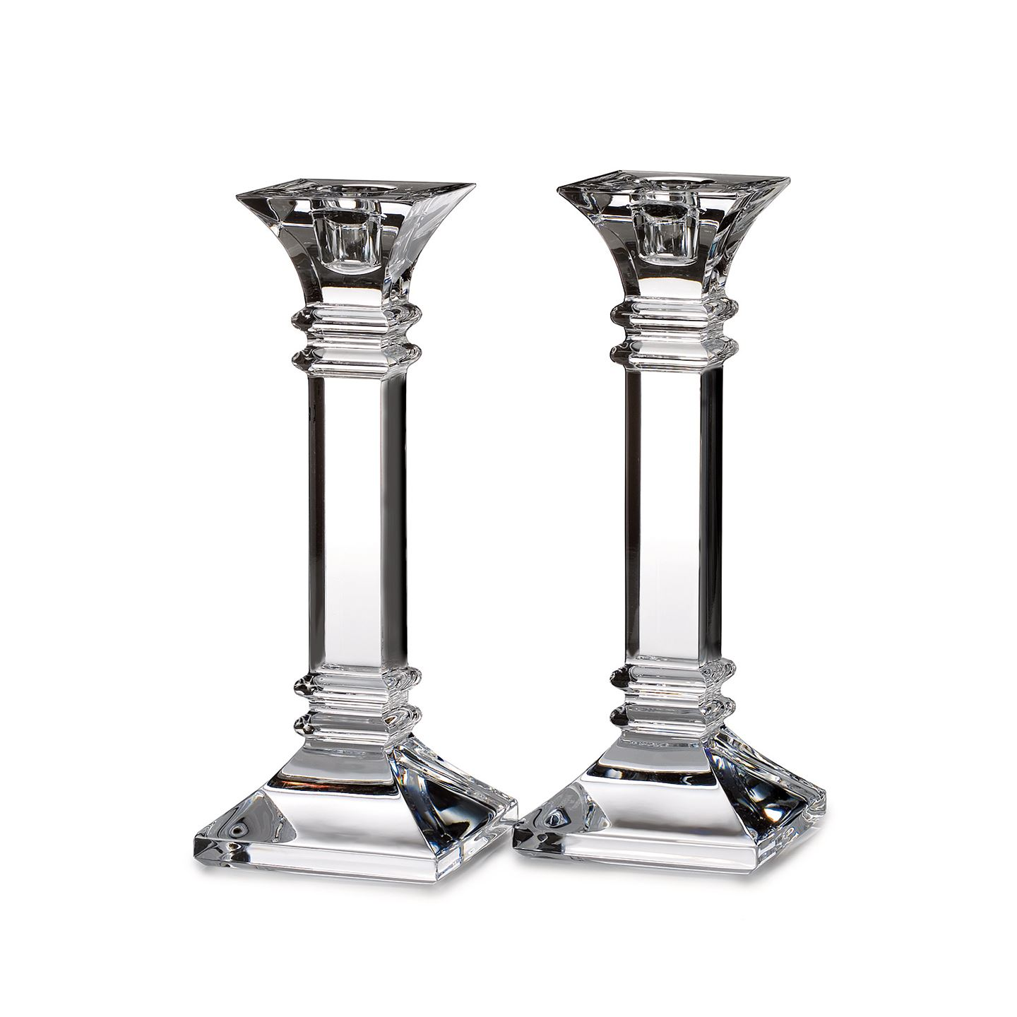 Marquis by Waterford Treviso 20cm Candlestick | Set of 2 | Lead Crystal