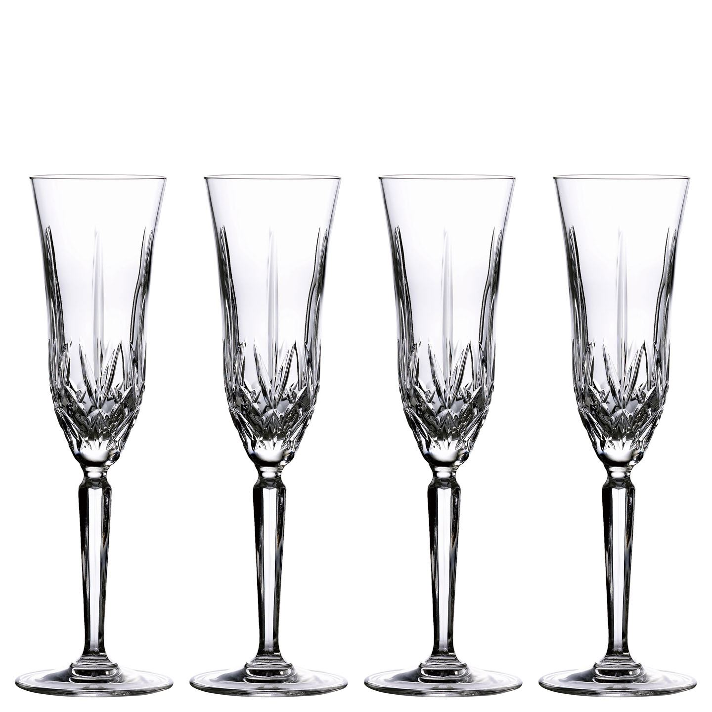 Marquis by Waterford Maxwell Champagne Flute | Set of 4 Glass | Crystal | 210 ml