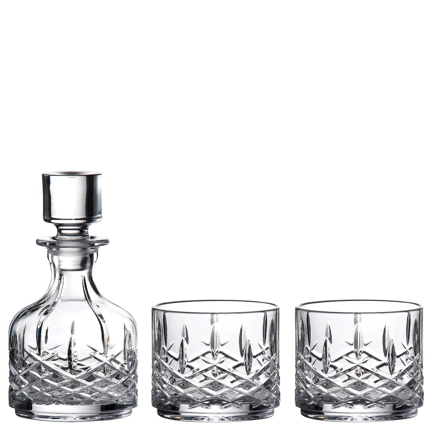 Marquis by Waterford Markham Stacking Decanter & Tumbler Set | Crystal